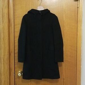 Black Aritzia Pearce wool and cashmere coat